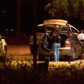 Guardia Civil y Policía Nacional en el campo de tiro
