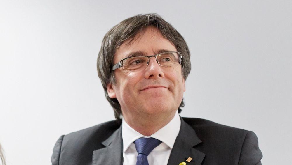 El expresidente de la Generalitat de Cataluña Carles Puigdemont