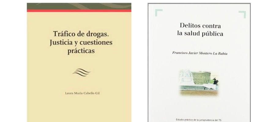 El libro de la directora de la Uned de Albacete junto al libro que supuestamente ha plagiado
