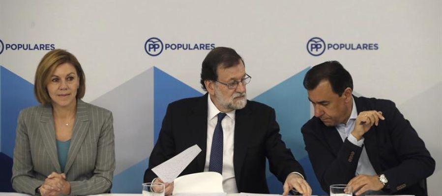 Mariano Rajoy en la reunión del Comité Ejecutivo Nacional