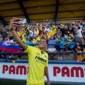 Bacca durante su presentación con el Villarreal