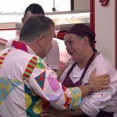 Pili y Alberto Chicote en Pesadilla en la cocina: Casa Pili