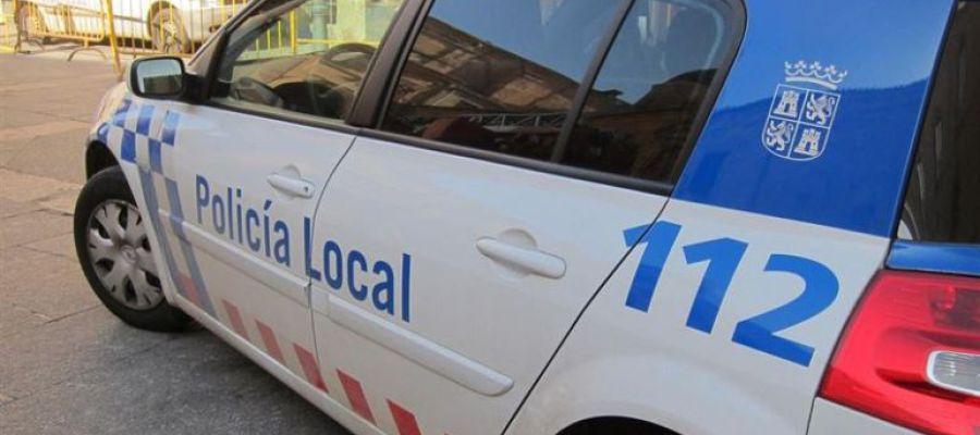 Un coche de la Policía Local de Palencia