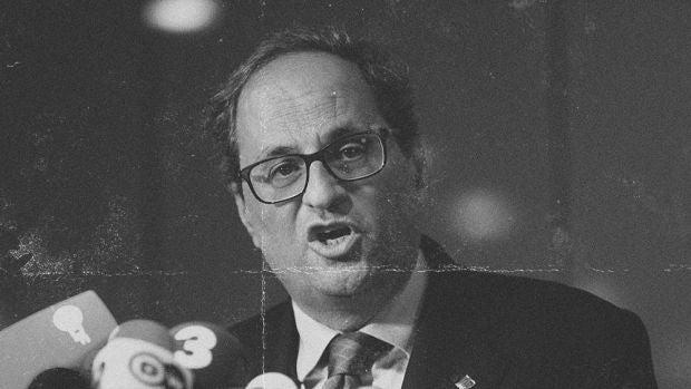 El noticiero catalán: Quim Torra