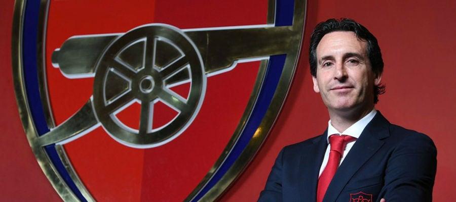 Unai Emery, presentado como técnico del Arsenal