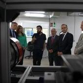 José Julian Gregorio, durante su visita al Centro Nacional de Hidrógeno de Puertollano