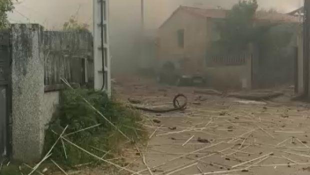 Al menos 4 muertos en una explosión en Valdranes-Tui