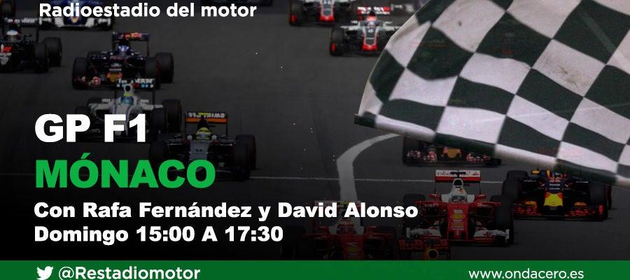 Gran Premio de Mónaco de Fórmula 1 en Radioestadio del Motor