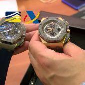 Intervenidos cuatro diamantes valorados en 2.600.000 euros y 720 monedas de oro