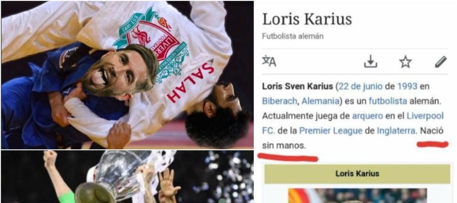 Sergio Ramos y Karius, protagonistas