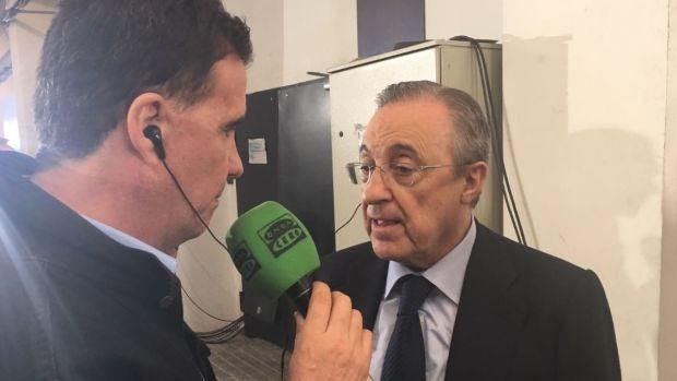 """Florentino Pérez sobre su futuro: """"Yo soy el más importante, tengo que seguir hasta el final"""""""
