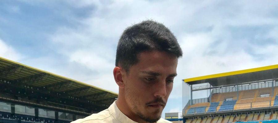 Pablo Fornals en el Estadio de la Cerámica