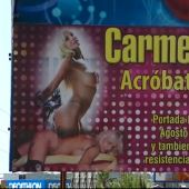 "Polémica en Lepe por una ""acróbata vaginal"""