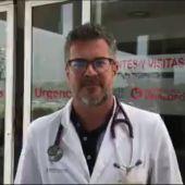 Blas Giménez, jefe del servicio de Urgencias del Hospital del Vinalopó de Elche.