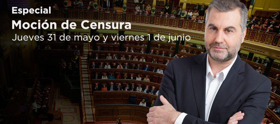 Especial moción de censura 31 de mayo y 1 de junio de 2018