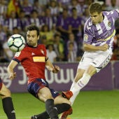 Euforia en vestuario y afición del Real Valladolid