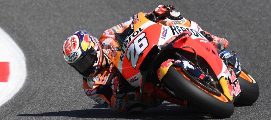 El piloto español Dani Pedrosa