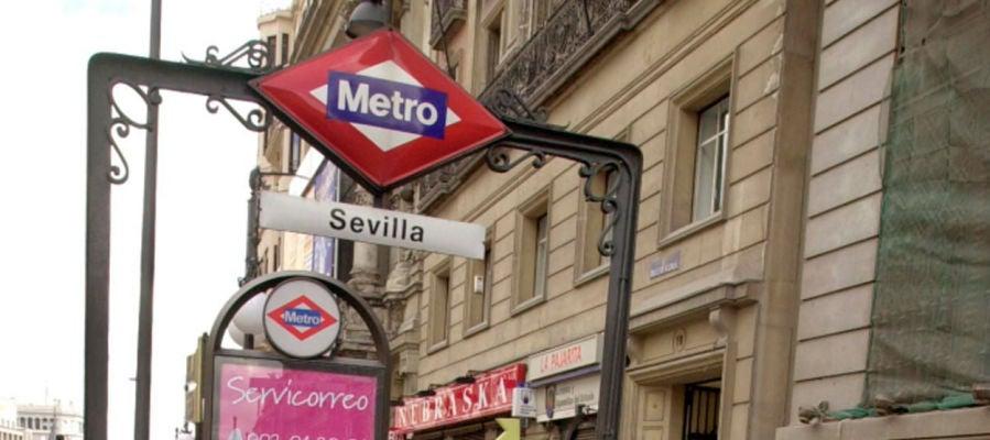 Parada Sevilla del Metro de Madrid