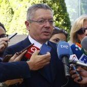El expresidente de la Comunidad de Madrid, Alberto Ruiz-Gallardón