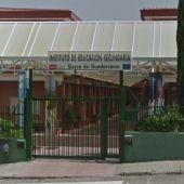 El instituto de Soto del Real en el que se encontraron las cámaras