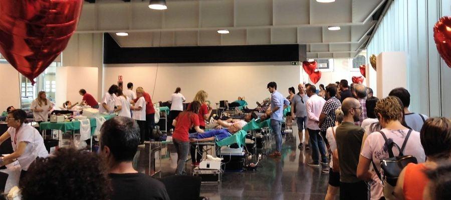 Maratón de donación de sangre en Elche