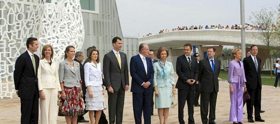 Inauguración Expo 2008
