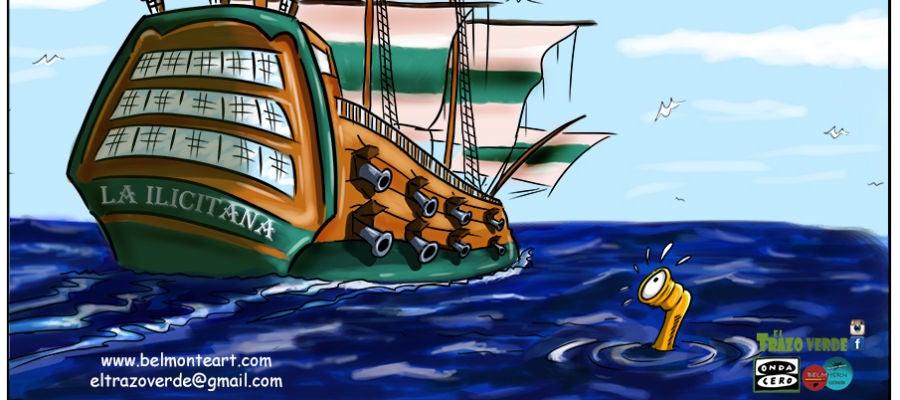 La fragata Ilicitana avanza hacia la batalla final por el ascenso a Segunda División.