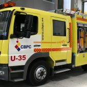 Imagen de archivo de un camión de bomberos de Cádiz
