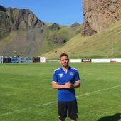 Álvaro Montejo, jugador español en Islandia.