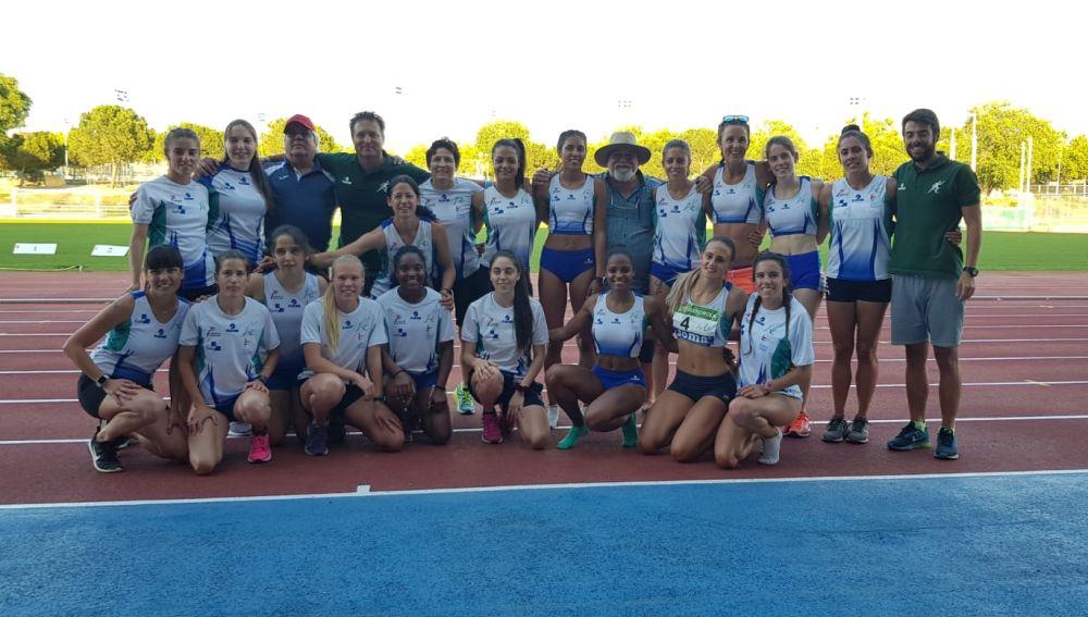 El equipo femenino del Club Juventud Atlética de Elche logró el ascenso a División de Honor en Alcorcón.