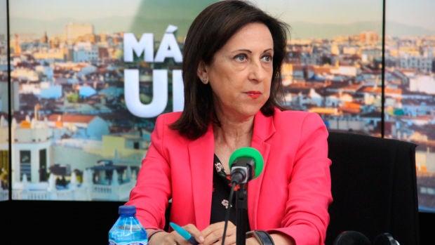 Margarita Robles defiende que el plan de inversión de Defensa es un gasto social además de militar