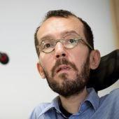 El secretario de Organización de Podemos, Pablo Echenique