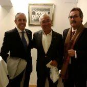Martín Pita, Severino Reija y Ramón Piña