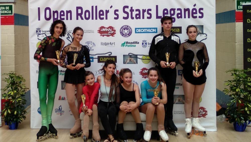 El Club Patinaje de Elche sumó siete triunfos en el Open Roller'stars de Leganés.