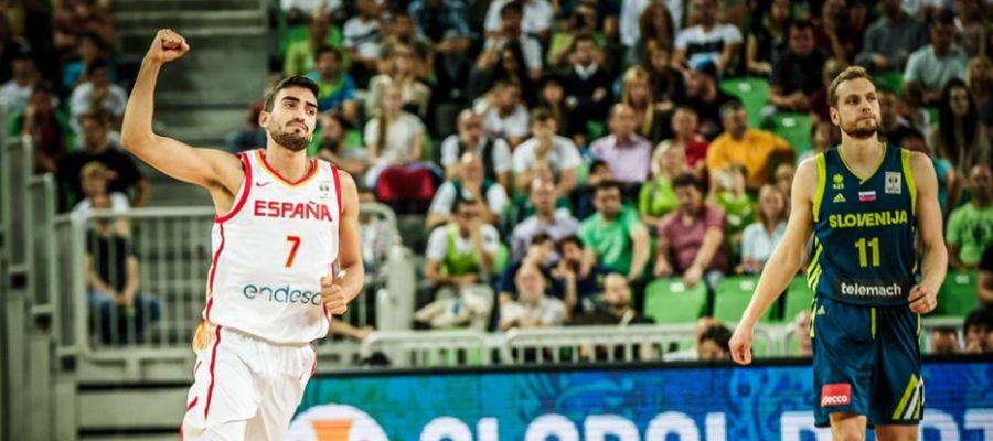 España ganó a Eslovenia en Liubliana