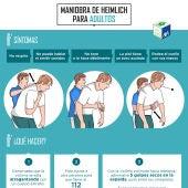 Maniobra de Heimlich en adultos