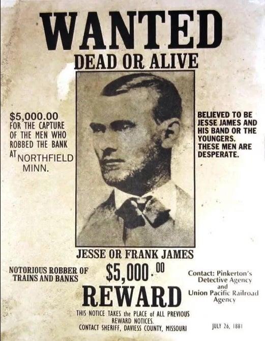 Punta Norte: Jesse James y la fiebre del oro