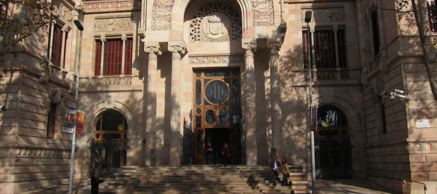Imagen de la Audiencia de Barcelona