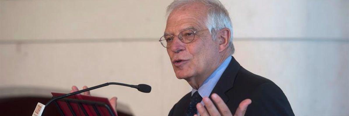 """Josep Borrell: """"Lo normal es presentar los Presupuestos y que la Cámara se pronuncie"""""""