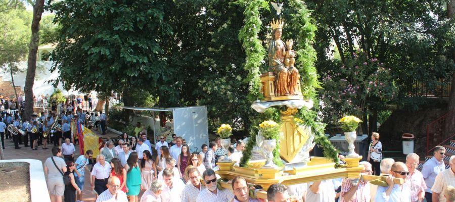 El divendres anterior al primer diumenge de setembre, es realitza la romeria des de l'ermita de la Patrona a la ciutat