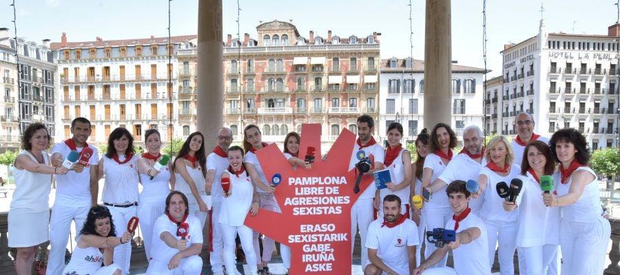 Sanfermín 2018 - Pamplona libre de agresiones sexistas