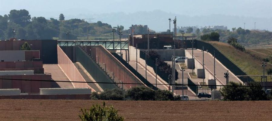 """Vista del centro penitenciario """"Els Lledoners"""", en el término municipal de Sant Joan de Vilatorrada (Barcelona)"""