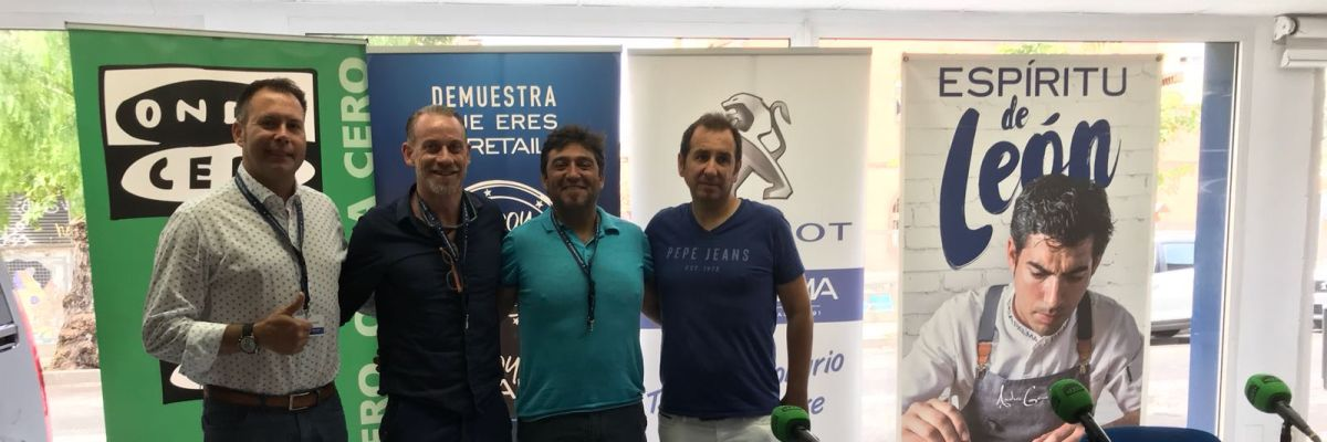 José Manuel López y Óscar Marín visitan Peugeot PSA Retail PALMA