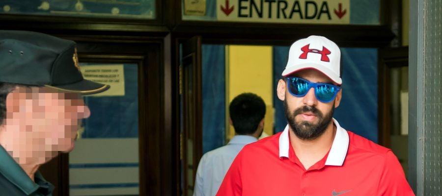 Antonio Manuel Guerrero, uno de los cinco integrantes de 'La Manada'