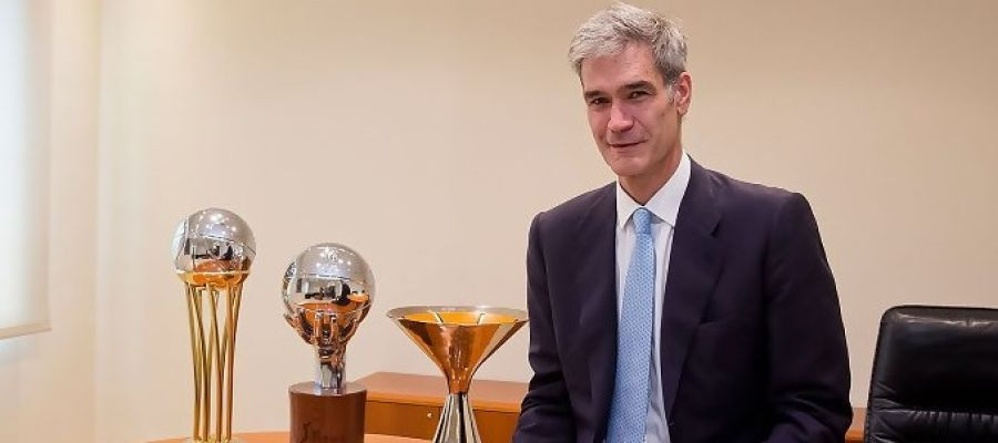 Antonio Martín, el nuevo presidente de la ACB