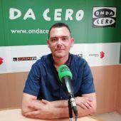 Victoriano Canales Cerdá, en el estadio de Onda Cero Elche.