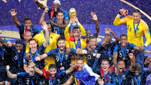 francia victoria mundial