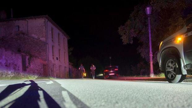 Se da a la fuga el hombre que estaba atrincherado en Turieno, Cantabria