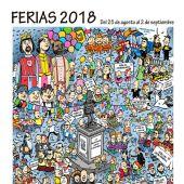 Cartel Fiestas Alcalá de Henares