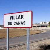Imagen de una señal de tráfico de Villar de Cañas